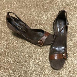 Badolino suede heels
